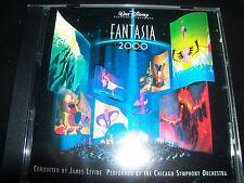 Fantasia 2000 Walt Disney Soundtrack CD James Levine Chicago Symphony Orchestra