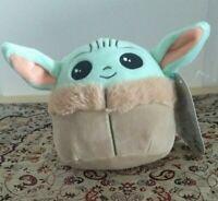 "Star Wars The Mandalorian Baby Yoda 5"" inch SquishmallowThe Child Disney+ NWT"
