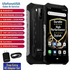 "UlefoneUSA 5.5""Rugged 3GB +32GB Armor X5 Unlock 4G DualSIM NFC Android 9.0(BLK)"