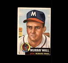 1953 Topps 217 Murray Wall RC VG #D418743