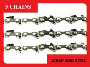Chainsaw Chain Suit For Fit Shindaiwa 320TS 360TS 12 Inch Bar (3 x Chains)