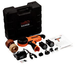 Legatrice professionale Bahco BCL40IB con 2 batterie al litio 14,4 V