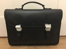 07d00f196f Mulberry Elkington Briefcase - Black Calf Leather - Brand New - Special  Edition