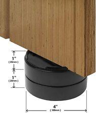 """Slipstick CB657 Stack-Its 1"""" Adjustable Bed Furniture Risers (Set of 8) Black"""