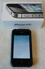 Apple iPhone 4s - 16GB - WITH CASE - Black great cond (AT&T) A1387 (CDMA + GSM)