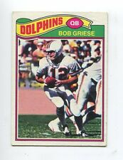 1977 Topps #515 Bob Griese Miami Dolphins