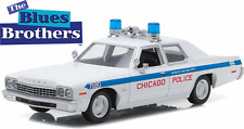 Greenlight 1/24 Blues Brothers Chicago Police 1975 Dodge Monaco  84012