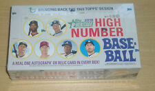 2018 Topps Heritage High Number baseball factory sealed hobby box Soto Acuna