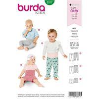 BURDA STYLE SEWING PATTERN 9317 BABY TROUSERS/PANTS