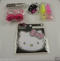 Hello Kitty stamp highlighters and note pad Sanrio