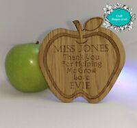Personalised, Teacher gift, End of Year / Term, Keepsake, Coaster. Thank you