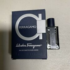 Salvatore Ferragamo EAU Detoilette Pour Home 0.17 oz / 5 ml  NEW
