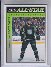 15/16 OPC San Jose Sharks Brent Burns NHL All-Star Glossy card #AS-15