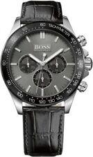 Graue Armbanduhren mit 24-Stunden-Zifferblatt und mattem Finish