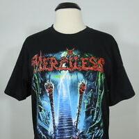 MERCILESS Unbound Black T-Shirt Men's size L (NEW)