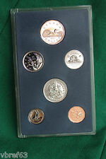 1994 Canada Specimen set - 6 uncirculated coins original plastic display holder