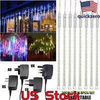 LED Meteor Shower Rain Lights 30CM 50CM Waterproof Decoration Falling String