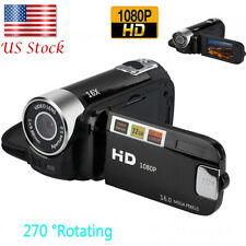 HD LCD Digital Video Camera Camcorder LED Vision 16X Zoom Rechargeable Handheld