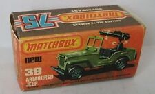 Repro box MATCHBOX superfast Nº 38 Armoured JEEP