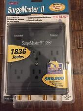 Belkin Surge Master II Multimedia DSS 1692 Joules Surge Protector NEW- I