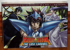 LOS CABALLEROS DEL ZODIACO THE LOST CANVAS 1ª-2ª TEMP. 6 DVD+DVD EXTRAS NUEVO