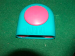 Vintage Taboo Buzzer Only Replacement Game Part Piece Teal Pink Tested  1989 d2