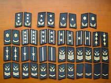 07's series China PLA Navy, Marines Camo Uniform Collar Rank Badge,set,22 Pair