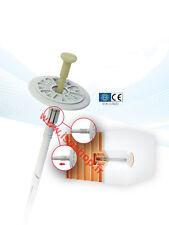 Cheville-clou pour fixation d'isolant CLOU PLASTIC  PVC 10x200  1000ps