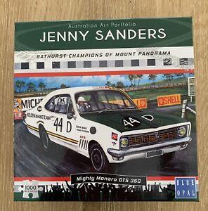 JENNY SANDERS MIGHTY MONARO GTS 350 PUZZLE 1000 Piece Blue Opal