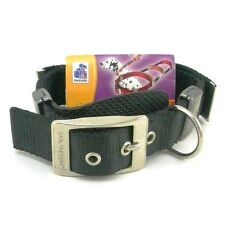 """Petmate DT  Dog Control Collar with Contractible Leash, 16"""" x 1"""", Black"""