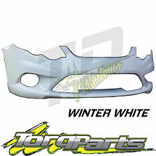 WINTER WHITE BUMPER FG XR6 XR8 SUIT FORD FALCON SERIES 1 08-11 XR TURBO FRONT