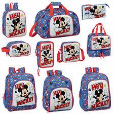 Mickey Mouse Backpack Kids Travel School Bag Rucksack Disney Lunch Bag THINGS
