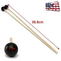 1 set of 2 Soft Rubber Head Mallets Sticks For Glockenspiel Xylophone Bell US
