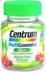 Centrum Multi Gummies  Lozenge Zinc, Vitamin A, B6, B12, D, Cherry Berry Orange