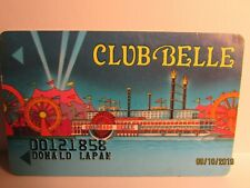 Colorado Belle Hotel & Casino- Club Belle Players Card- Laughlin, Nv- mint