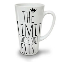 No Limit Exist Slogan NEW White Tea Coffee Latte Mug 12 17 oz | Wellcoda