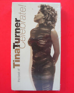 """The Best of TINA TURNER CELEBRATE! Image VHS """"Combined US Shipping"""""""