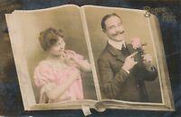 BIRTHDAY – Bonne Fete Happy Birthday Postcard - 1918