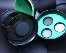 Makinon Reflex MC 1:8 f=500mm Objektiv für Canon FD