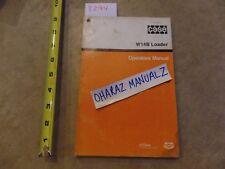 CASE W14B Loader Operator's Manual  9-9880