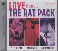 "The Rat Pack ""Love From.."" 2CD Set NEW & SEALED 50 Tracks Sinatra Martin Davis"