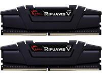 G.SKILL Ripjaws V Series 32GB (2 x 16GB) 288-Pin DDR4 SDRAM DDR4 3600 (PC4 28800