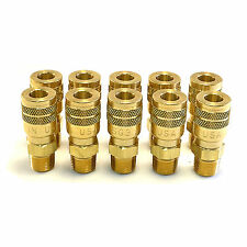 "10 Foster Quick Connect 3/8"" Male Npt Air Hose Coupler - M Style"