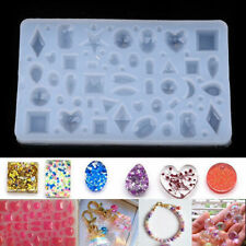 US DIY Clear Silicone Mold Making Jewelry Pendant Resin Casting Mould Craft Tool