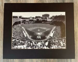 VINTAGE REPRODUCTION OF NEW YORK YANKEES STAIDIUM 1960s 8X 10 PHOTOGRAPH