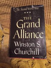 The Grand Alliance Winston S. Churchill The Second World War Series 1950 HC DJ