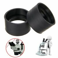 2 Binocular Eye Guards Eye Rubber Cup Eye Shield For Microscope Eyepiece 29-30mm