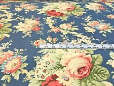 New ListingWaverly Sanctuary Rose Heritage Floral Print Upholstery And Drapery Fabric