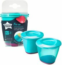 TOMMEE TIPPEE Explora Bébé Congélateur Food Pots /& BAC Pop Up Sevrage pot 4Pk