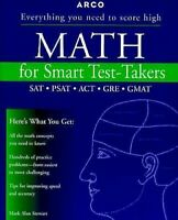 Math para Smart Test-Takers por Stewart, Mark Alan
